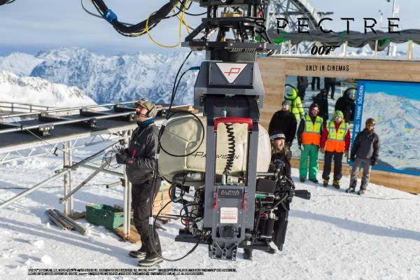 Die Film Crew bei der Arbeit