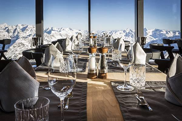Star-awarded cuisine as a daily routine - ice Q, Sölden, Ötztal valley
