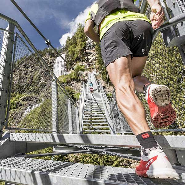 Vorbereitung zum Transalpine-Run 2016 im Oetztal, Tirol