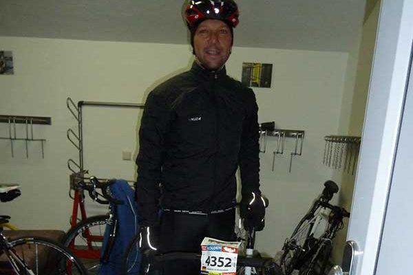 Gastautor am Morgen des Rennens - Ötztaler Radmarathon, Sölden