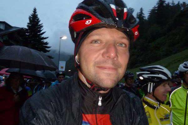 Gastautor Markus Scheuermann wartet, bis es endlich losgeht - Ötztaler Radmarathon, Sölden