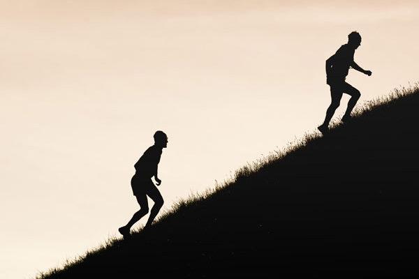 Gore-Tex Transalpine Run 2016 in der Dämmerungszeit
