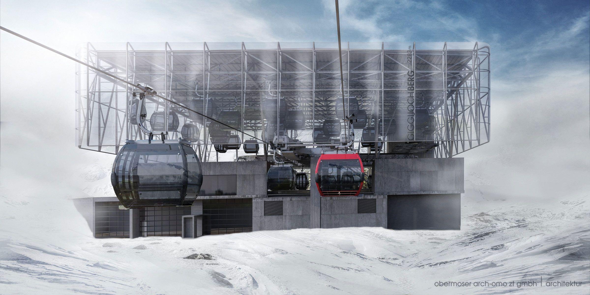 Sölden's new Giggijoch mountain gondola