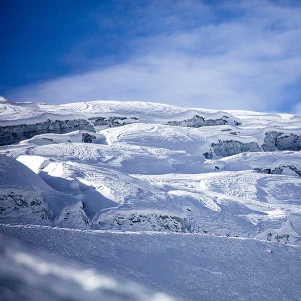 Gletscherskilauf Herbst Sölden Tirol
