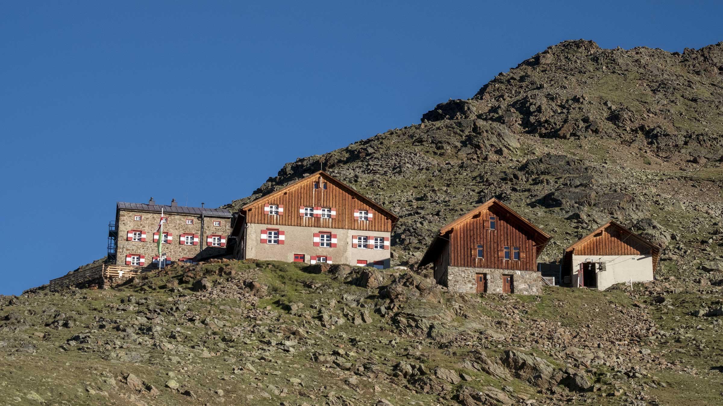 Breslauer Hütte im Sommer - Ötztal, Tirol