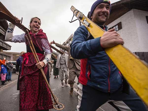Fanparade in Sölden - Weltcupauftakt Sölden