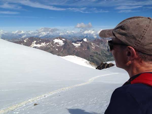 Atemberaubendes Panorma über die Ötztaler Bergwelt - Ötztal, Tirol