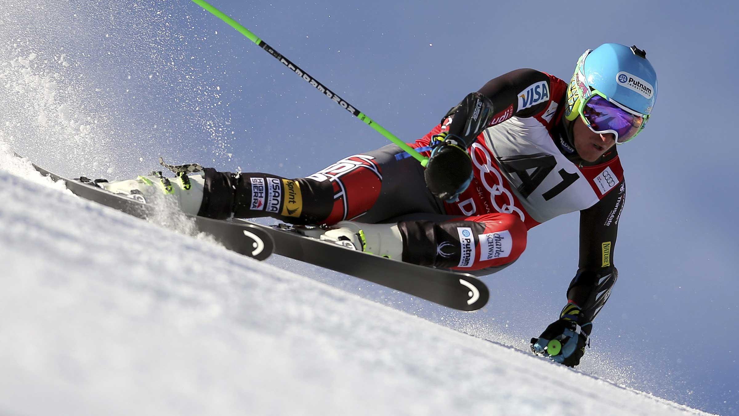 Ted Ligety - Ski Weltcup Auftakt Sölden