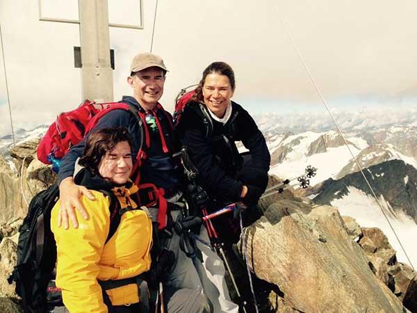 Gipfelsieg an der Wildspitze - Ötztal, Tirol