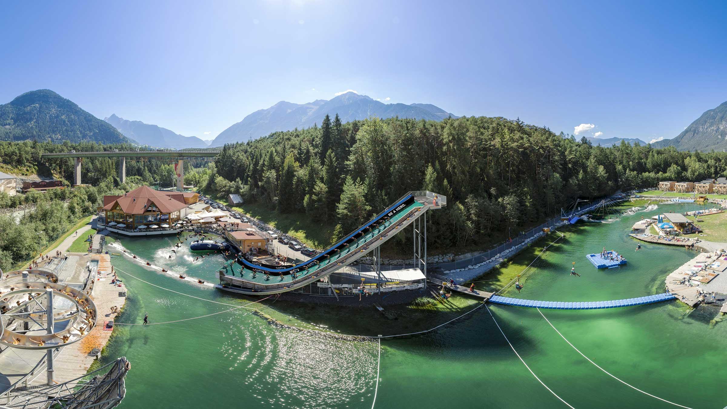 Im actionreichsten Ort der Alpen