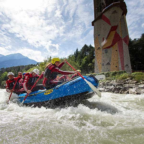 Rafting in der Area 47