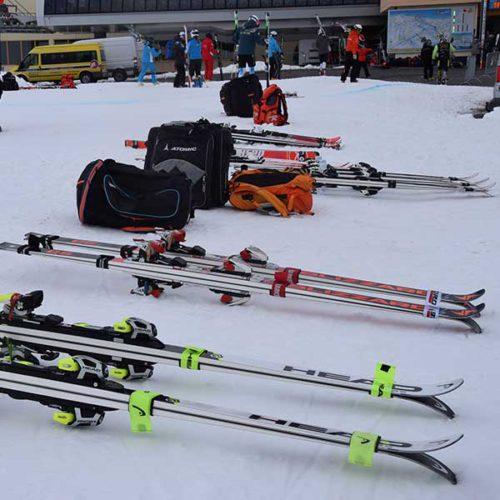 Skitest der Athleten - Sölden, Ötztal, Tirol