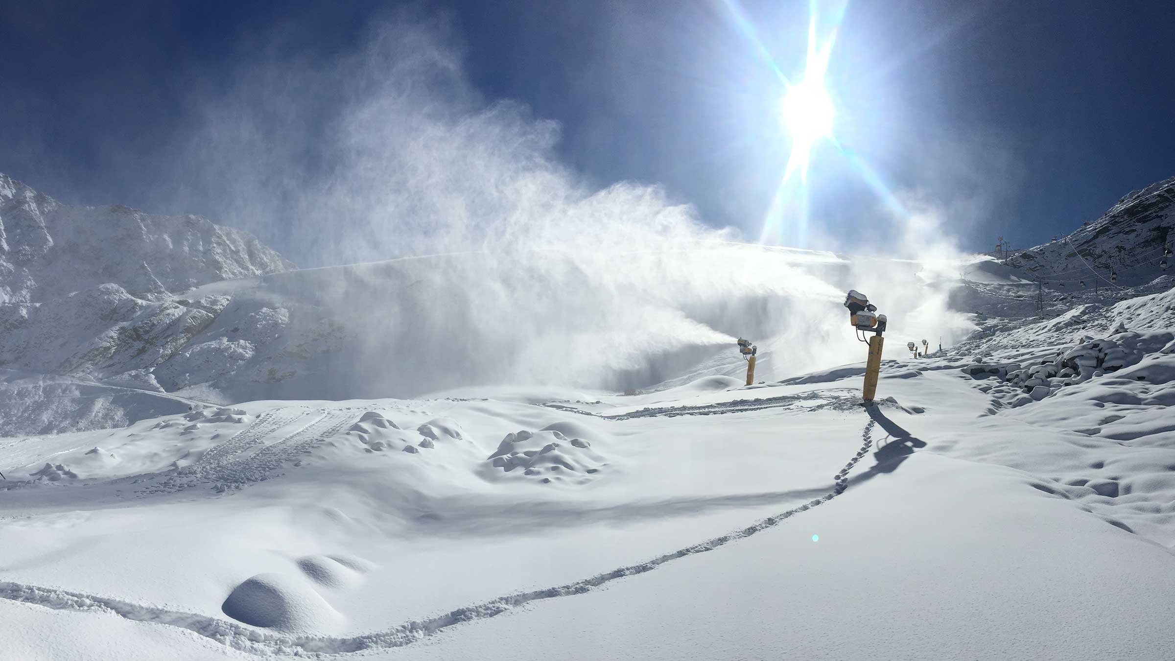 Snow Update From The Heartbeat of the Alps