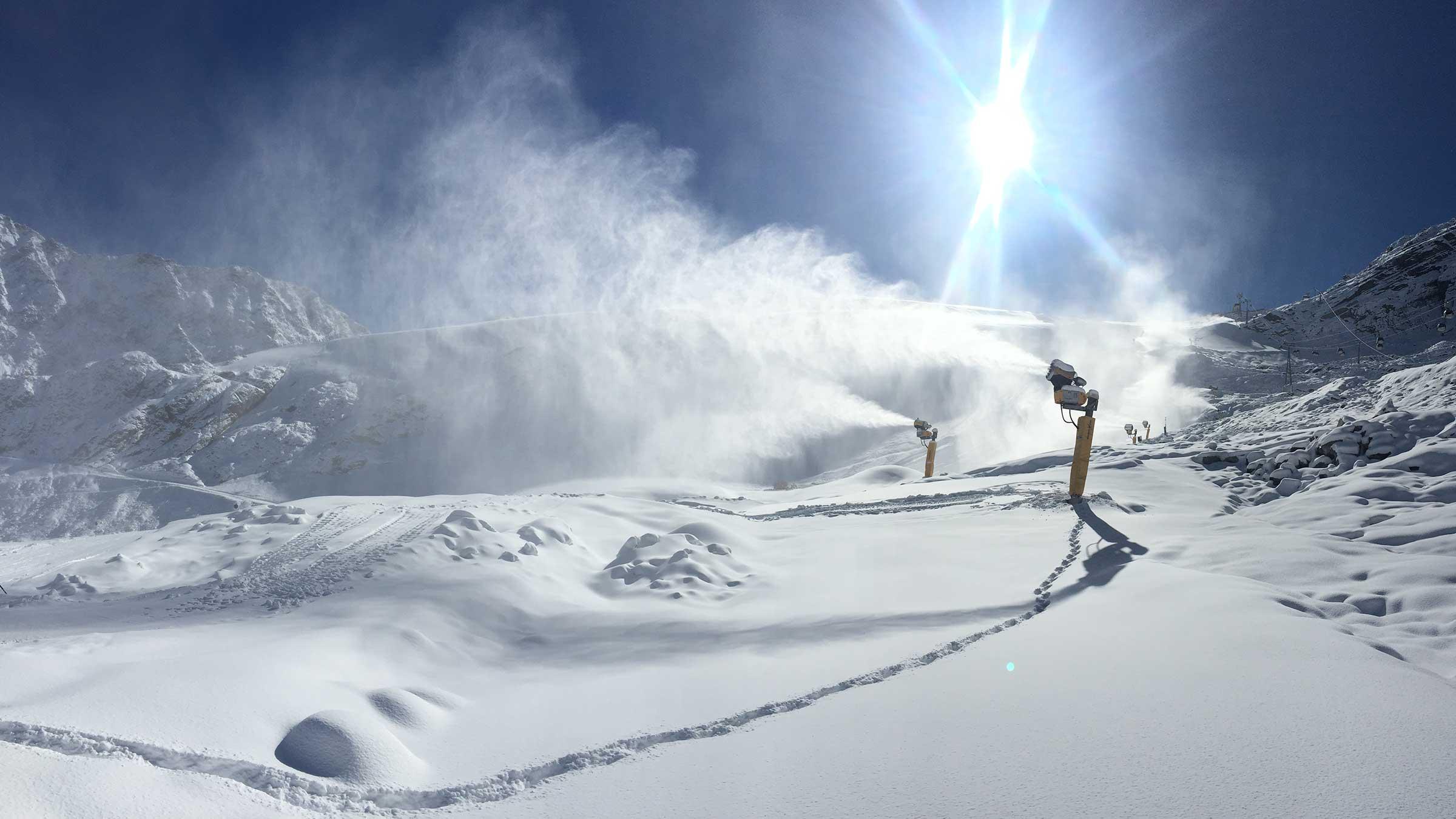 Snow Update aus dem Hotspot der Alpen Sölden