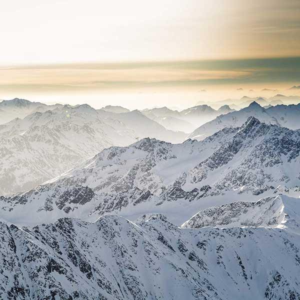 Bergwelt um Sölden - Wie 007 nach Sölden kam