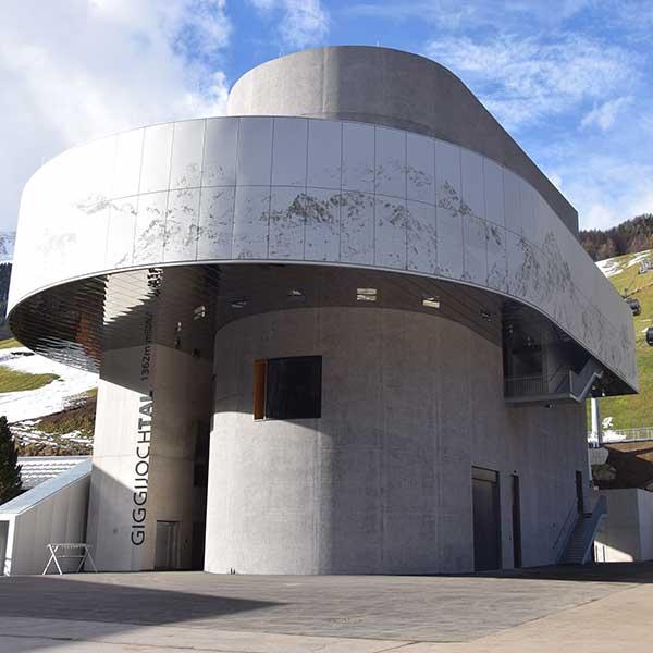 Giggijochbahn Talstation - Sölden, Ötztal, Tirol