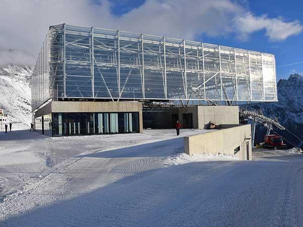 Bergstation Giggijochbahn Sölden, Ötztal, Tirol