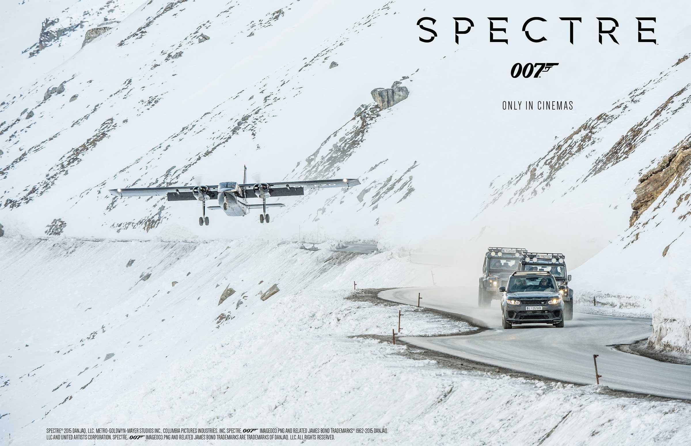 Verfolgungsjagd 007 auf Gletscherstraße - Wie 007 nach Sölden kam