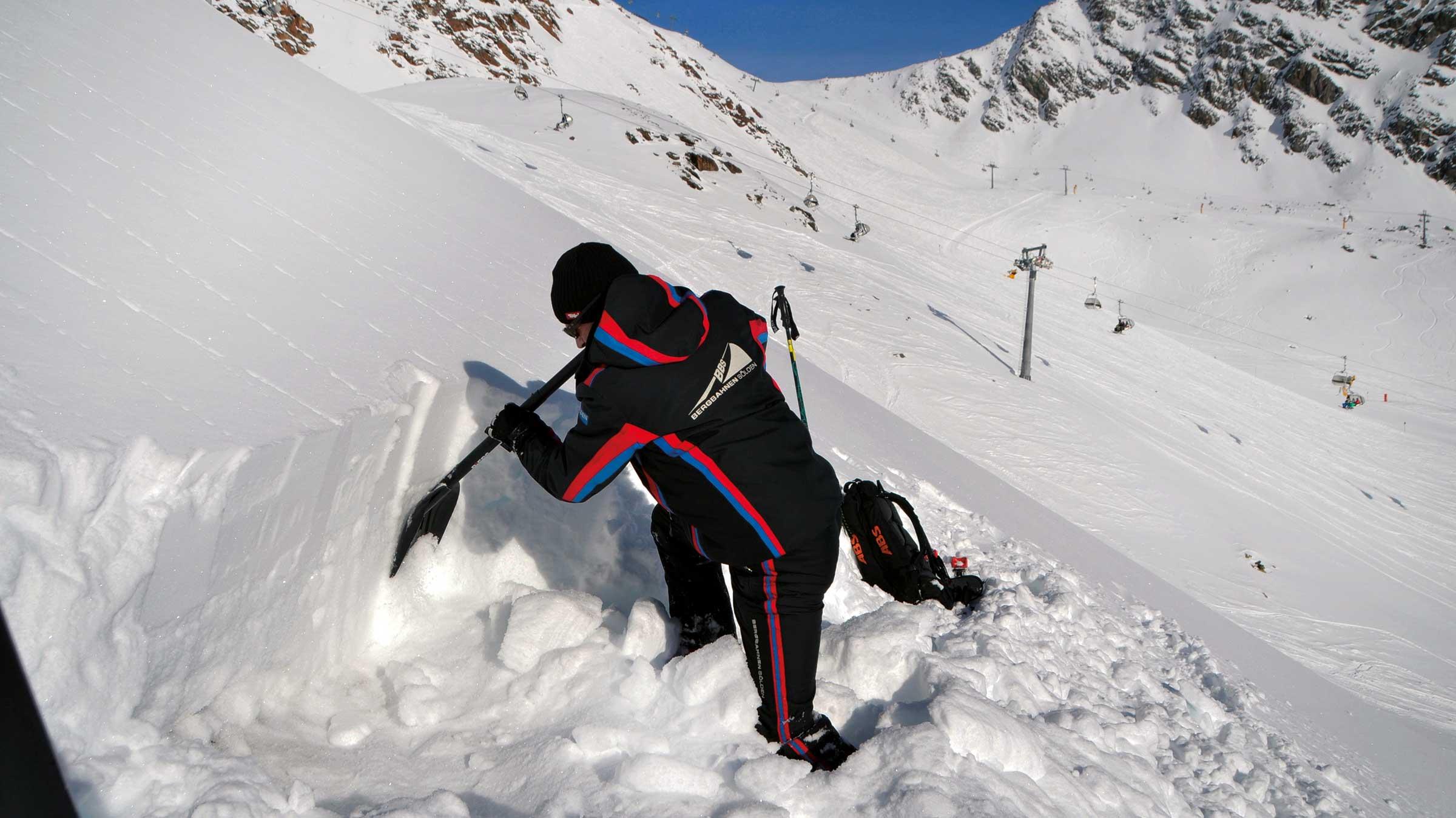 Sicherung Skigebiet Sölden