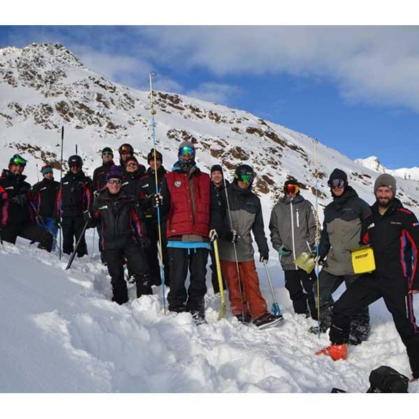 Lawinenschulung - Sicherung Skigebiet Sölden