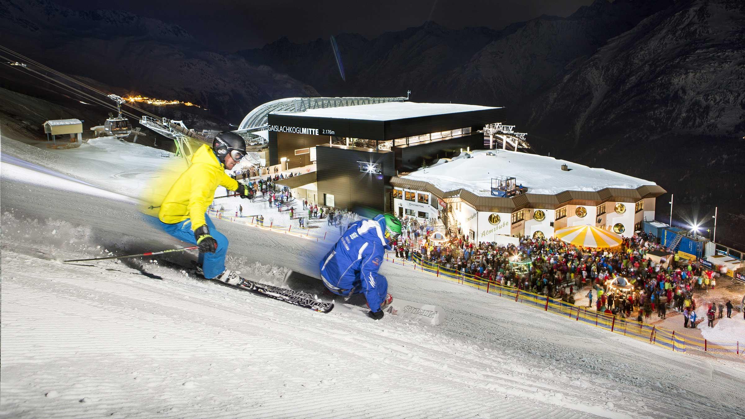 Manege frei für Ski Show & Nachtskilauf der Extraklasse!