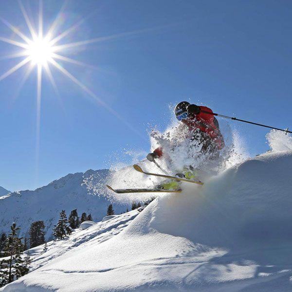 Skifahren in der Vielfalt Söldner