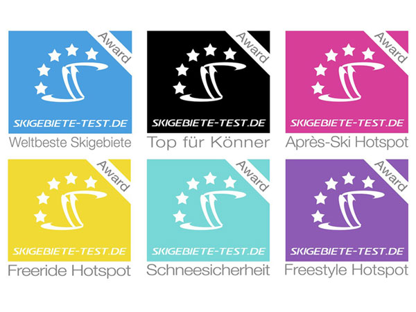 Skigebiete-Test Auszeichungen für Sölden