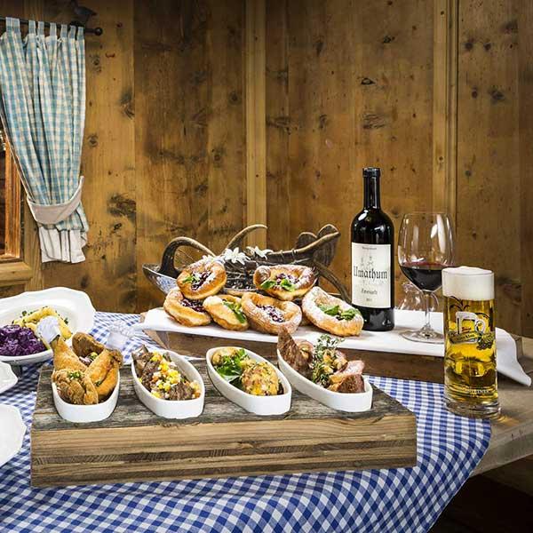 Tischlein deck dich - Night Ski Show und Nachtskilauf Sölden