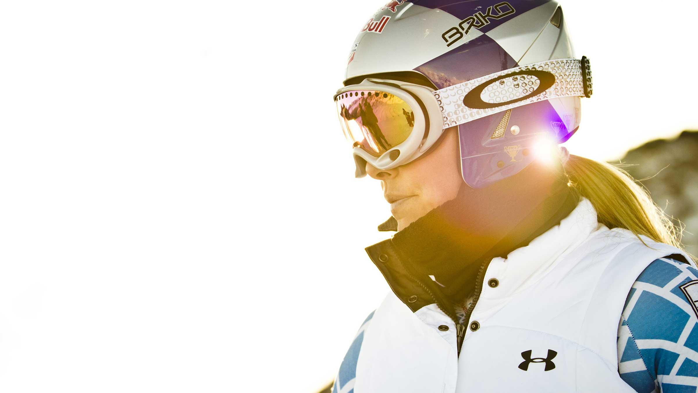 Lindsey Vonn - Ski WM St Moritz US Ski Team in Sölden