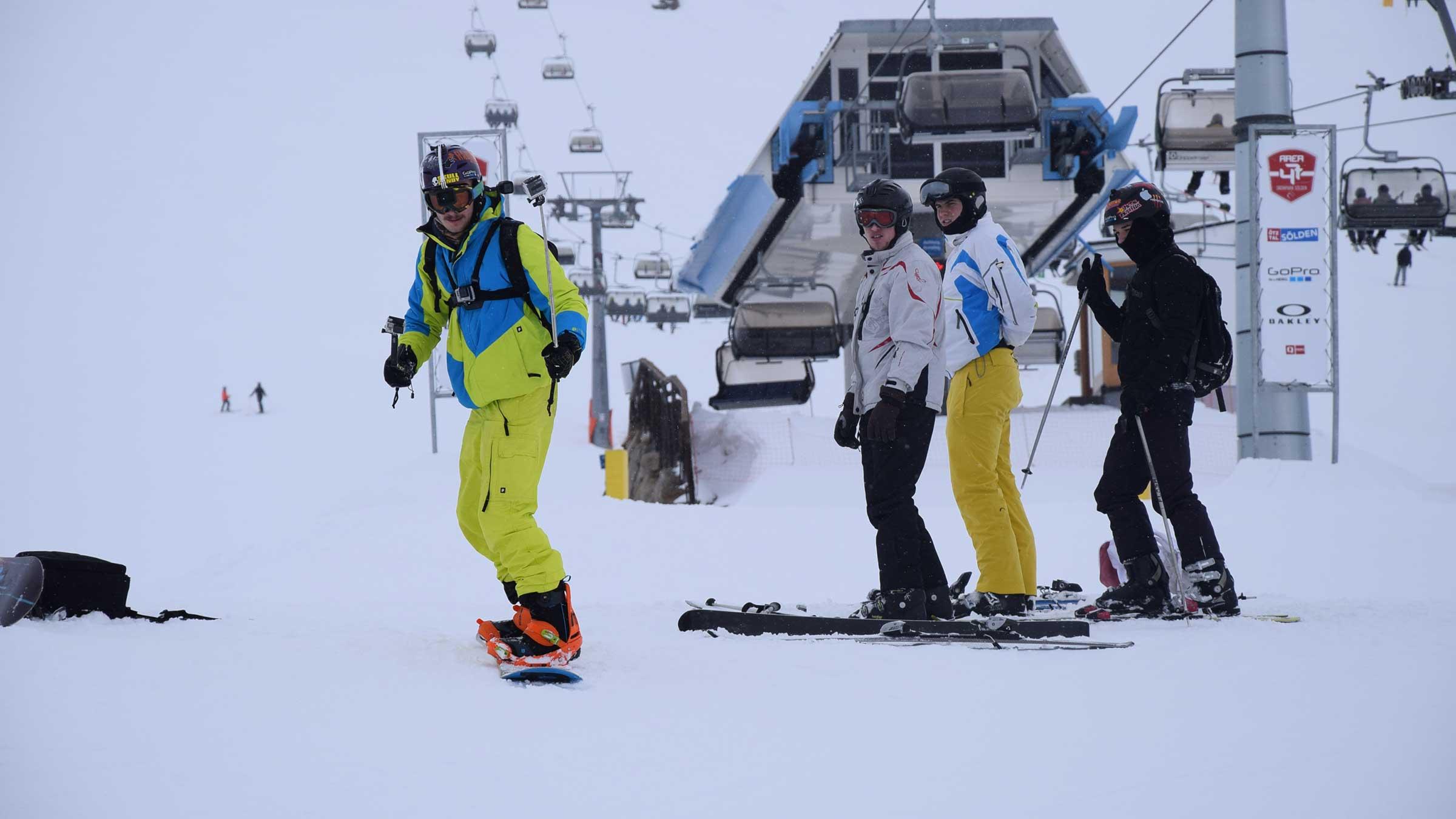 Be Unique – 12 Skitypen, die du auf den Pisten von Sölden triffst