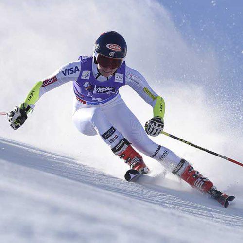 Mikaela Shiffrin - Ski WM St Moritz US Ski Team in Sölden