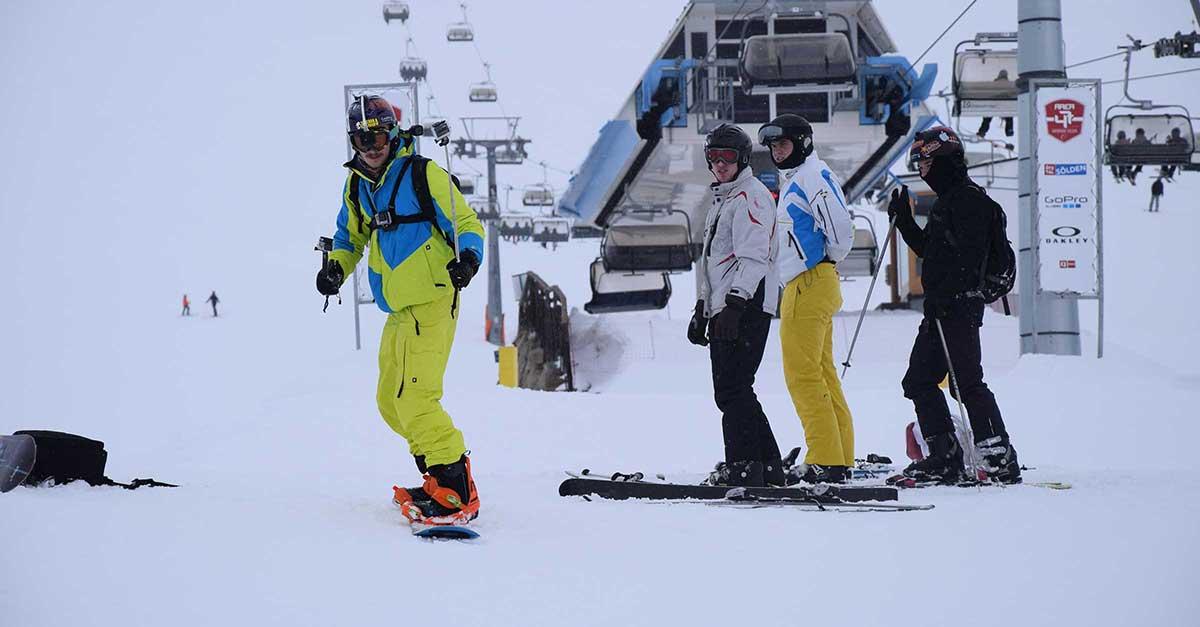 Skifahrertypen Sölden