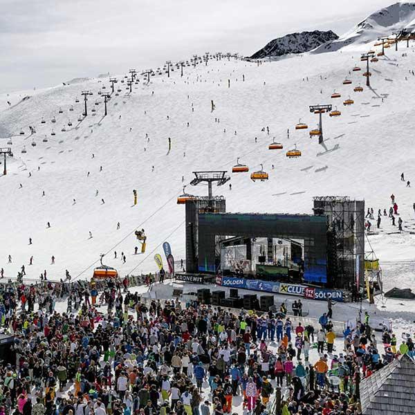 Electric Mountain Festival Bühne - Electric Mountain Festival
