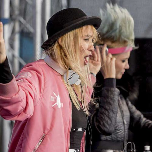 DJ Duo Nervo - Electric Mountain Festival
