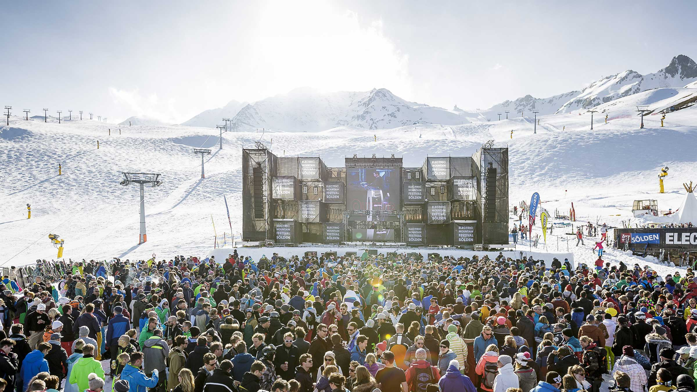 Satte Beats & Sonnenschein: Das war das Electric Mountain Festival 2017