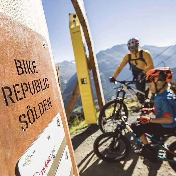 Start in die Eembe Line - Bike Republic Sölden