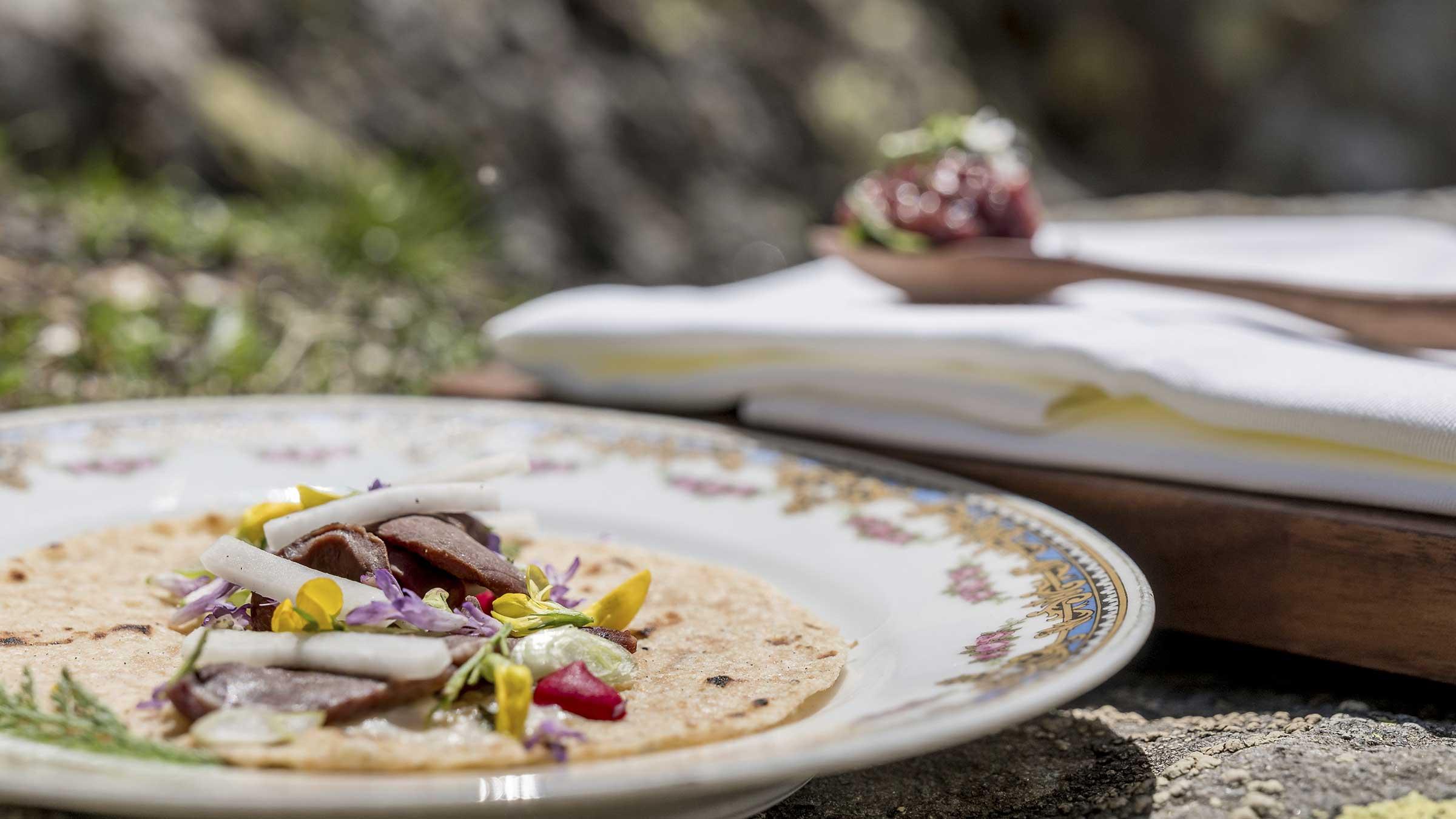 Einkornwrap - Kulinarik Sölden Windachtal