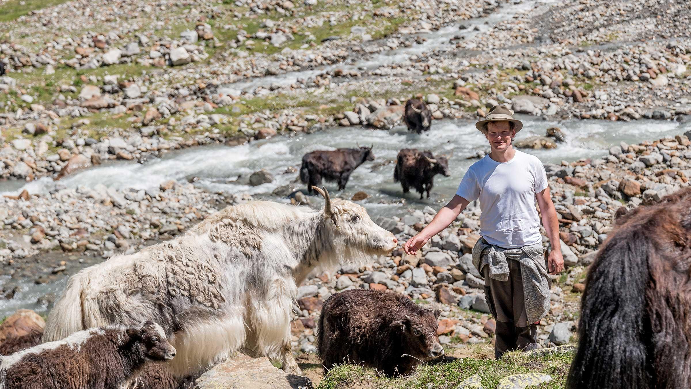 Züchter und Tiere - Kulinarik Sölden Windachtal