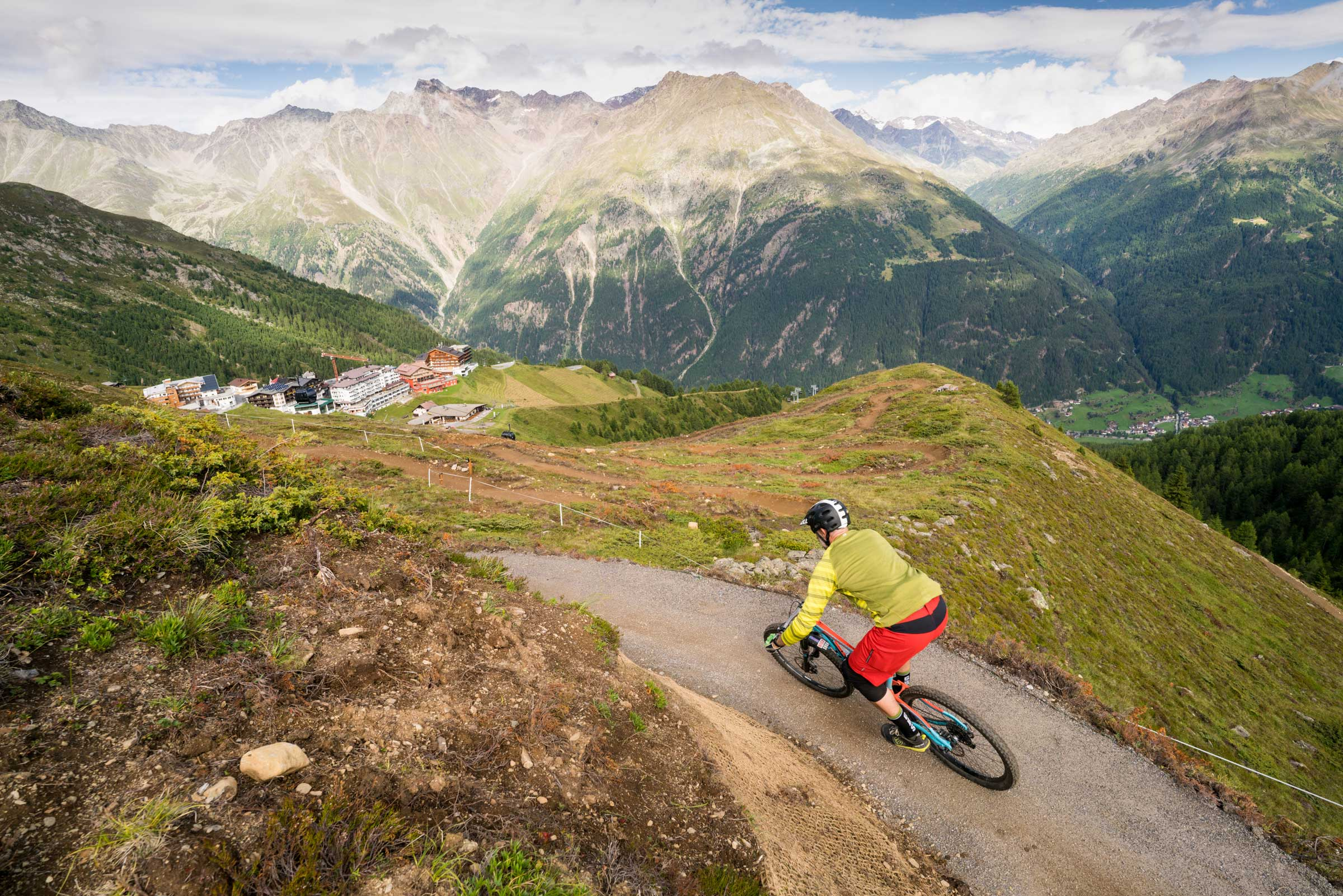 Harbe Line - Flow Trails Bike Republic Sölden