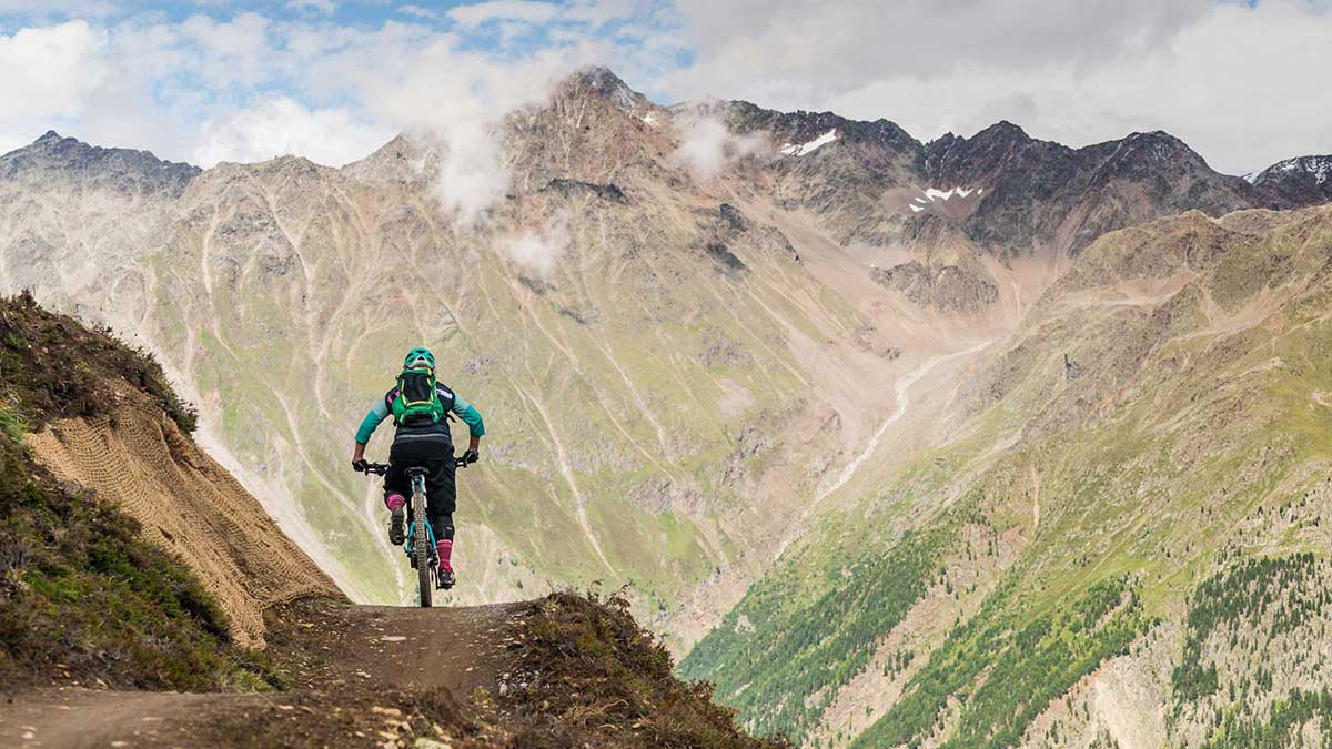Harbe Line - Flow Trails Bike Republic Sölden