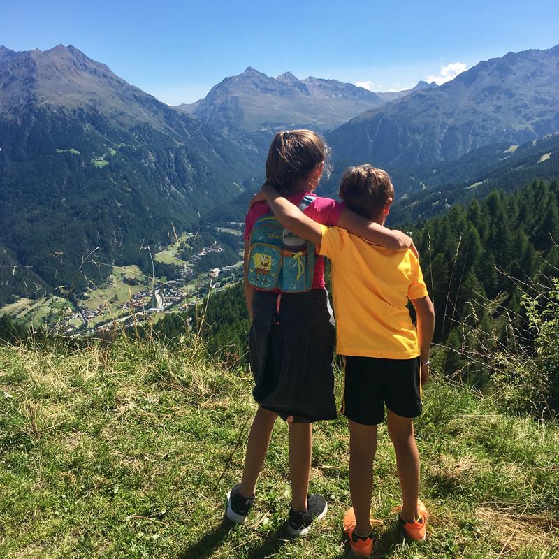 Wandern mit Kinder in Sölden