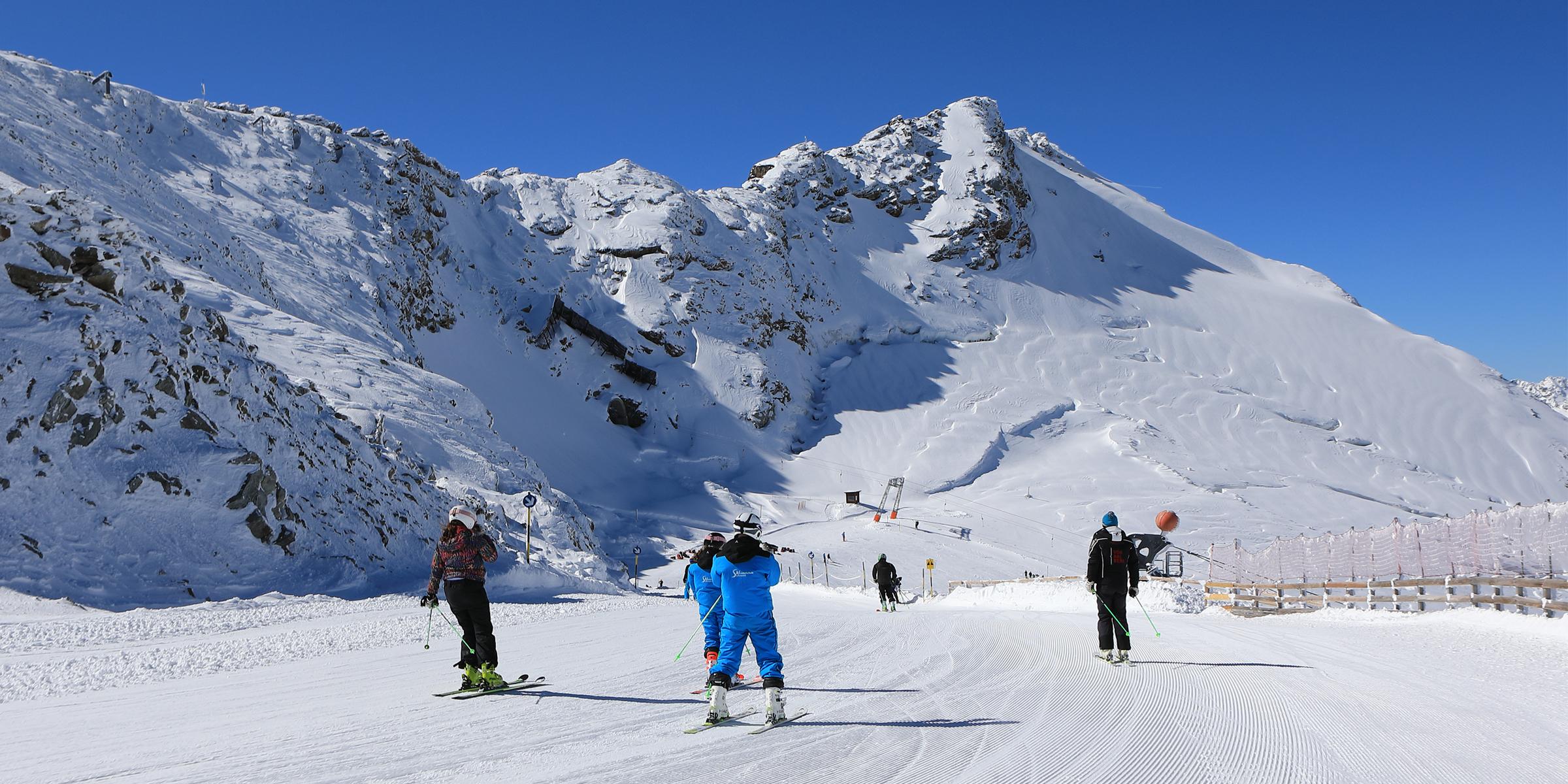 Endlich wieder Skifahren!