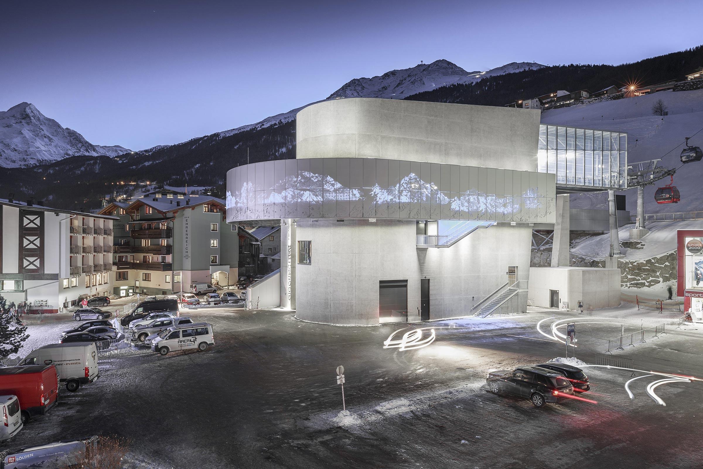 Giggijoch Talstation - Skigebiet Sölden