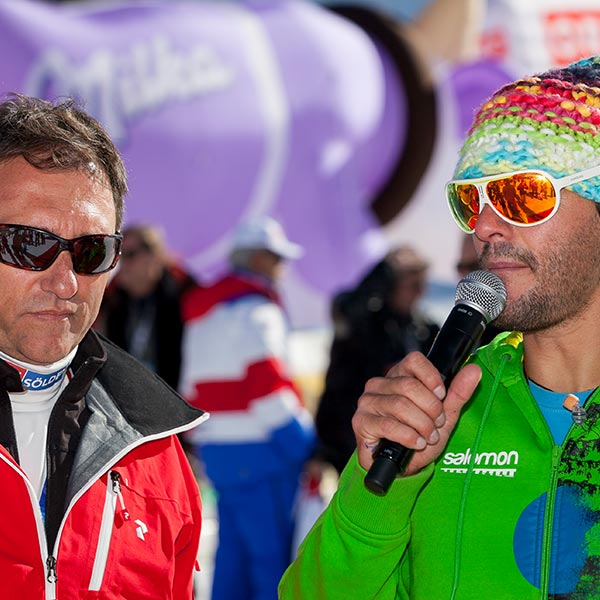 Stefan Steinacher und Oliver Schwarz - Skiweltcup Sölden