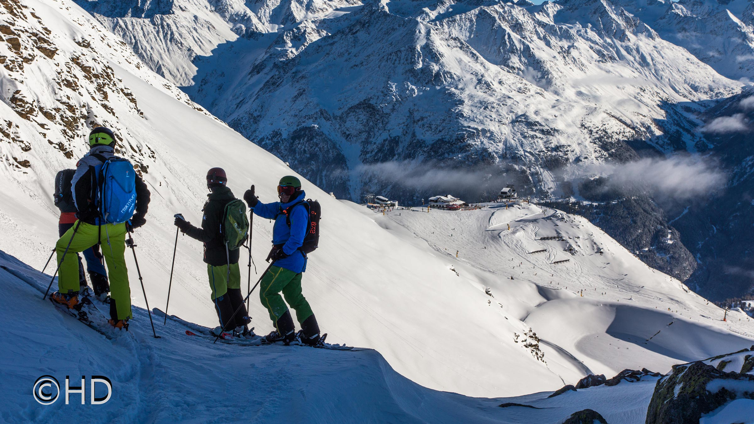 risk'n'fun FREERIDE – Training Session in Sölden