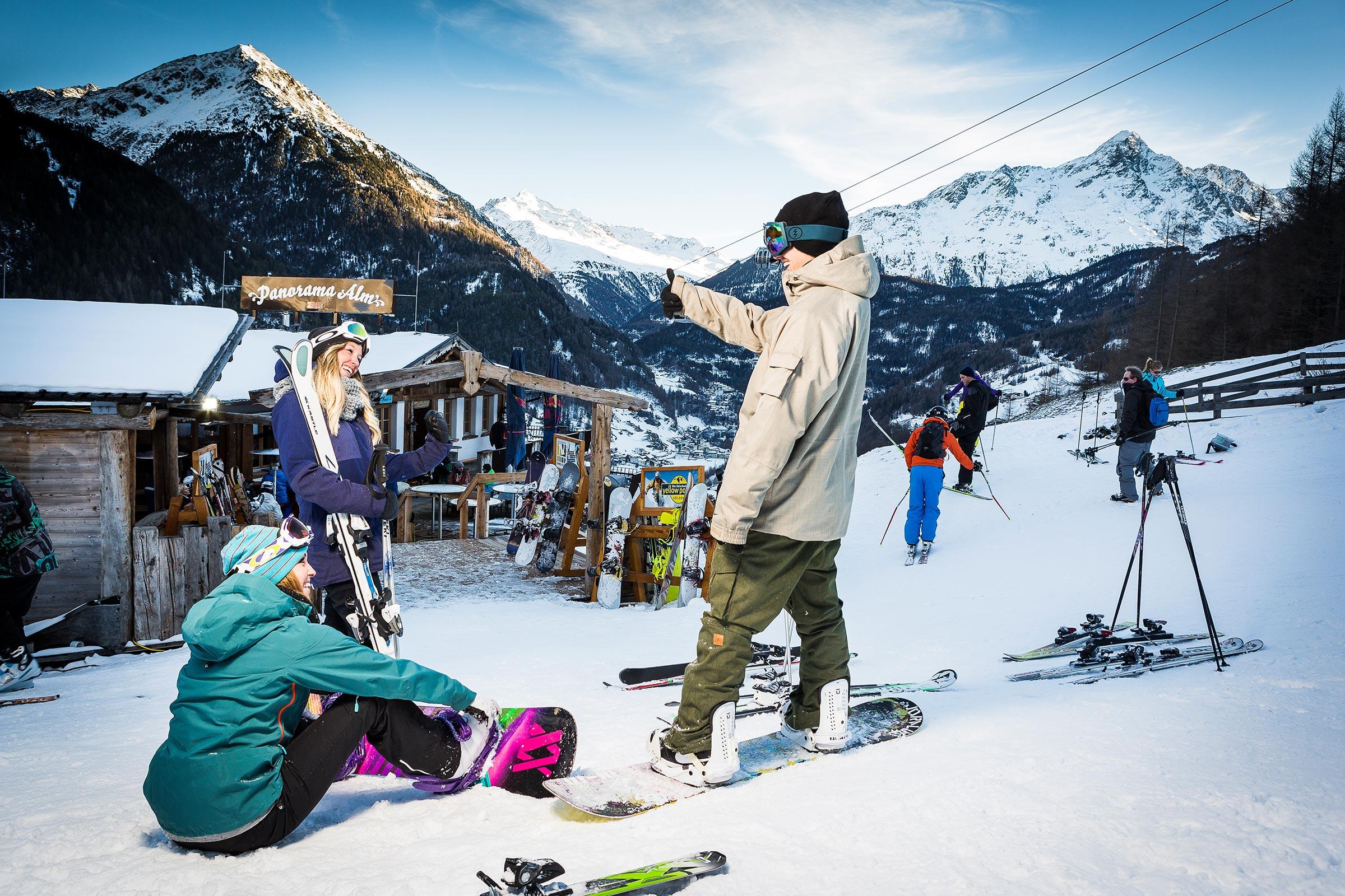 Après Ski - Skigebiet Sölden