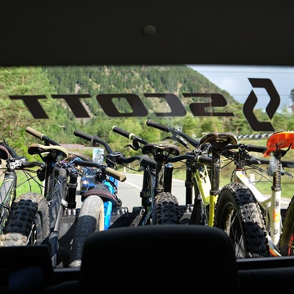 Biketransport - Bike Republic Sölden