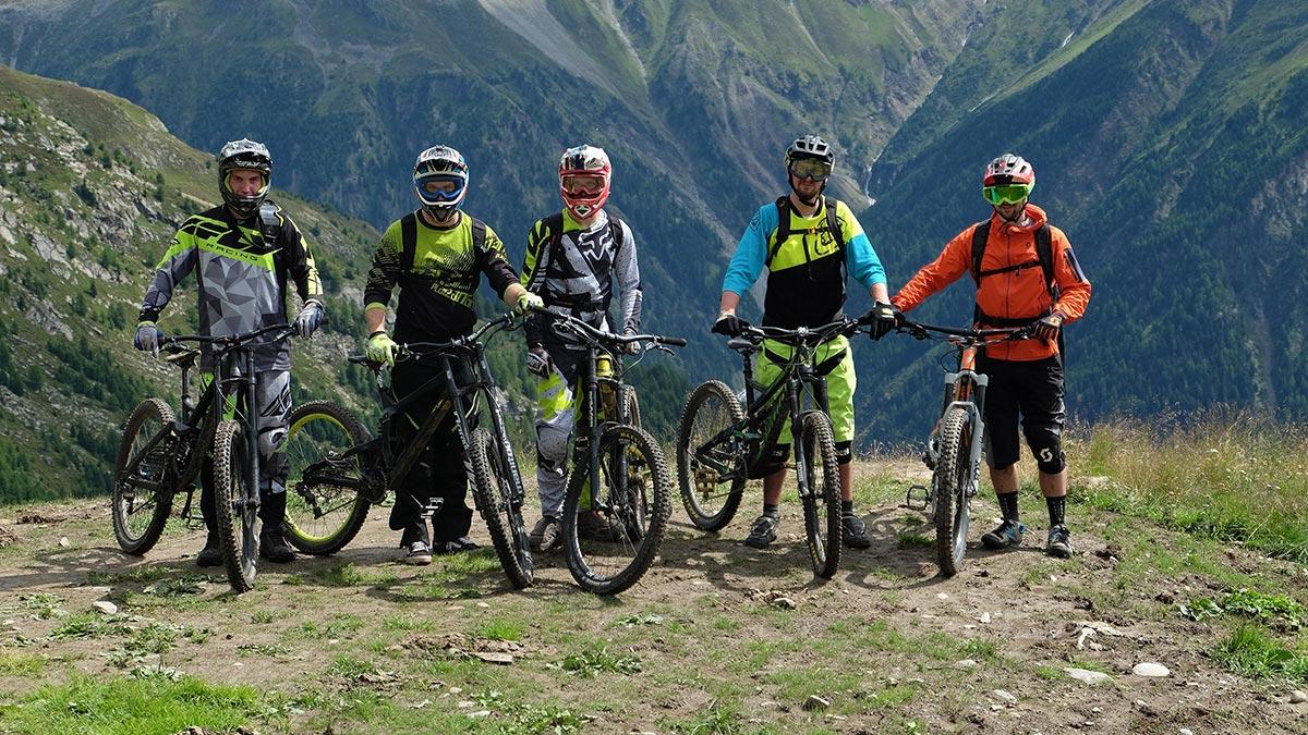 Ridersclub Gruppenbild - Bike Republic Sölden