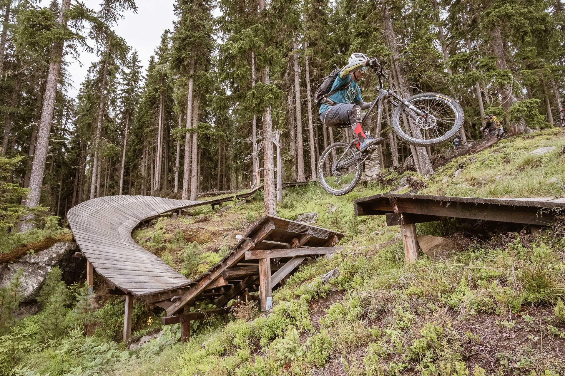 Sprung mit dem Bike - Bike Republic Sölden