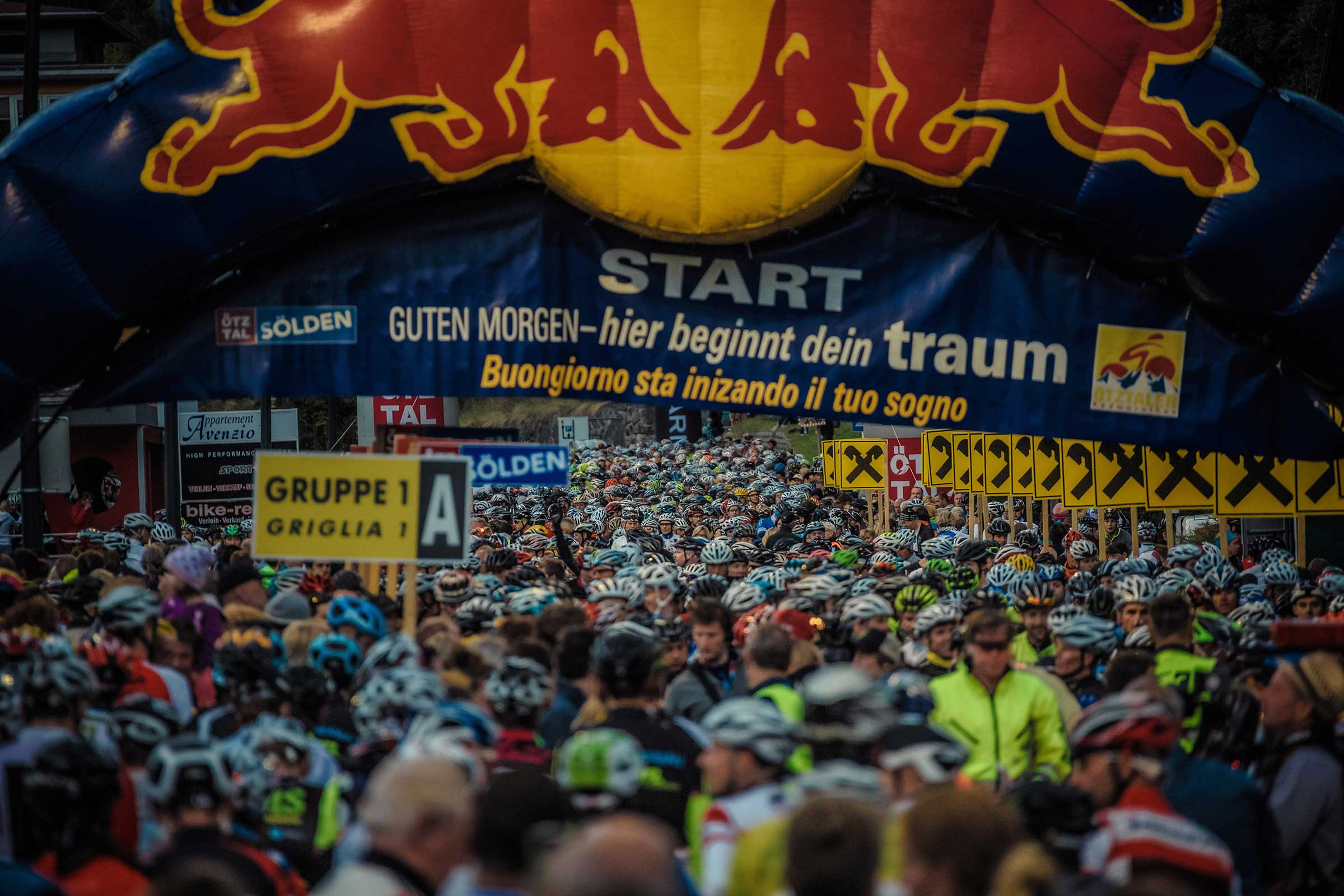 Start beim ÖRM - Ötztaler Radmarathon